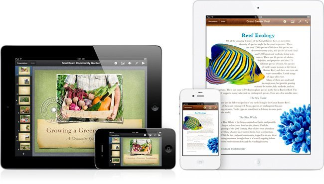 iWork para iPhone e iPod touch
