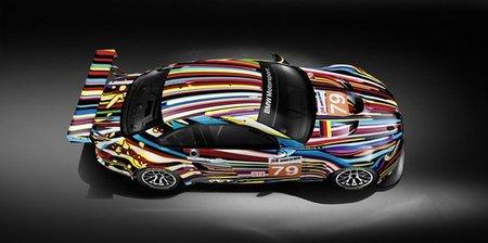 BMW presenta su nuevo Art Car para las 24 horas de Le Mans 2010