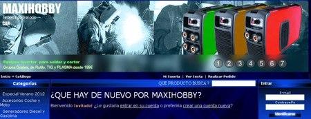 Maxihobby un portal de ocio con descuentos y liquidaciones