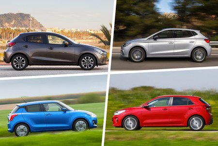 Mazda2 Vs Swift Vs Ibiza Vs Rio 3