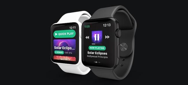 Snowy Spotify™ Apple™ Watch