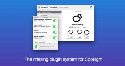 Flashlight demuestra que Spotlight puede ser mucho más potente en OS X Yosemite