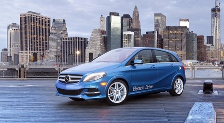 Mercedes-Benz Clase B Electric Drive 2014