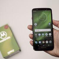 Moto G6 Plus, con Snapdragon 630 y 4GB de RAM, a su precio mínimo en Amazon: 179 euros