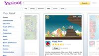 Yahoo lanza un buscador de aplicaciones móviles bastante prescindible