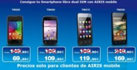 Airis Mobile ofrece a sus clientes hasta 90 euros de descuentos en sus smartphones
