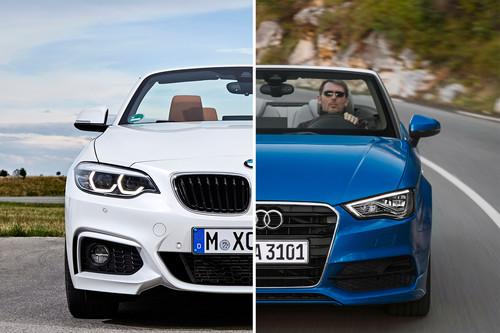 Comparativa Audi A3 Cabrio vs BMW Serie 2 Cabrio: ¿cuál es mejor para comprar?