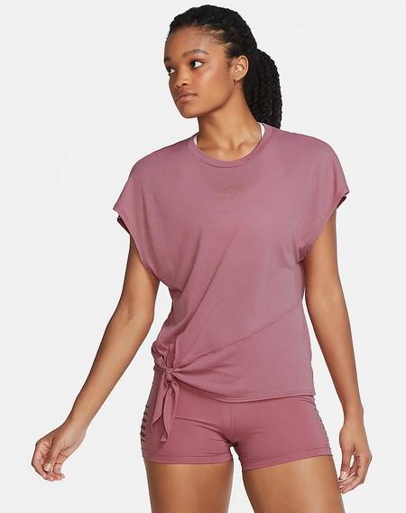 Camiseta de entrenamiento de manga corta - Mujer Nike Dri-FIT