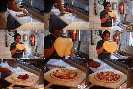 Elaboración de la pizza En Guay Si