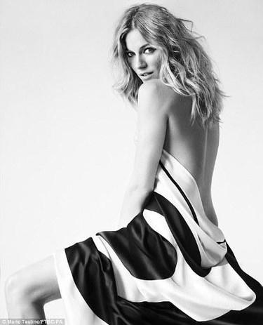 Kylie Minogue, Claudia Schiffer y Sienna Miller: desnudas se lucha mejor contra el cáncer