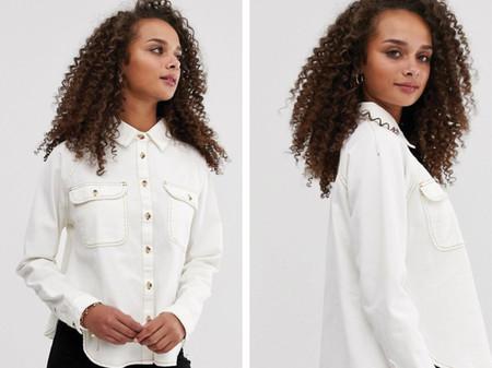 Camisa Blanca Vaquera Asos