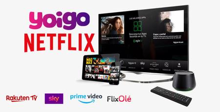 Yoigo regala tres meses de Netflix y un año de AgileTV  con sus combinados de fibra y móvil