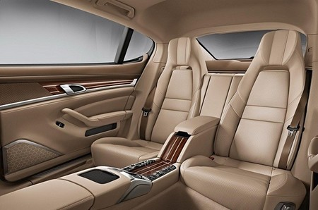 Porsche Panamera 2014, vista interior