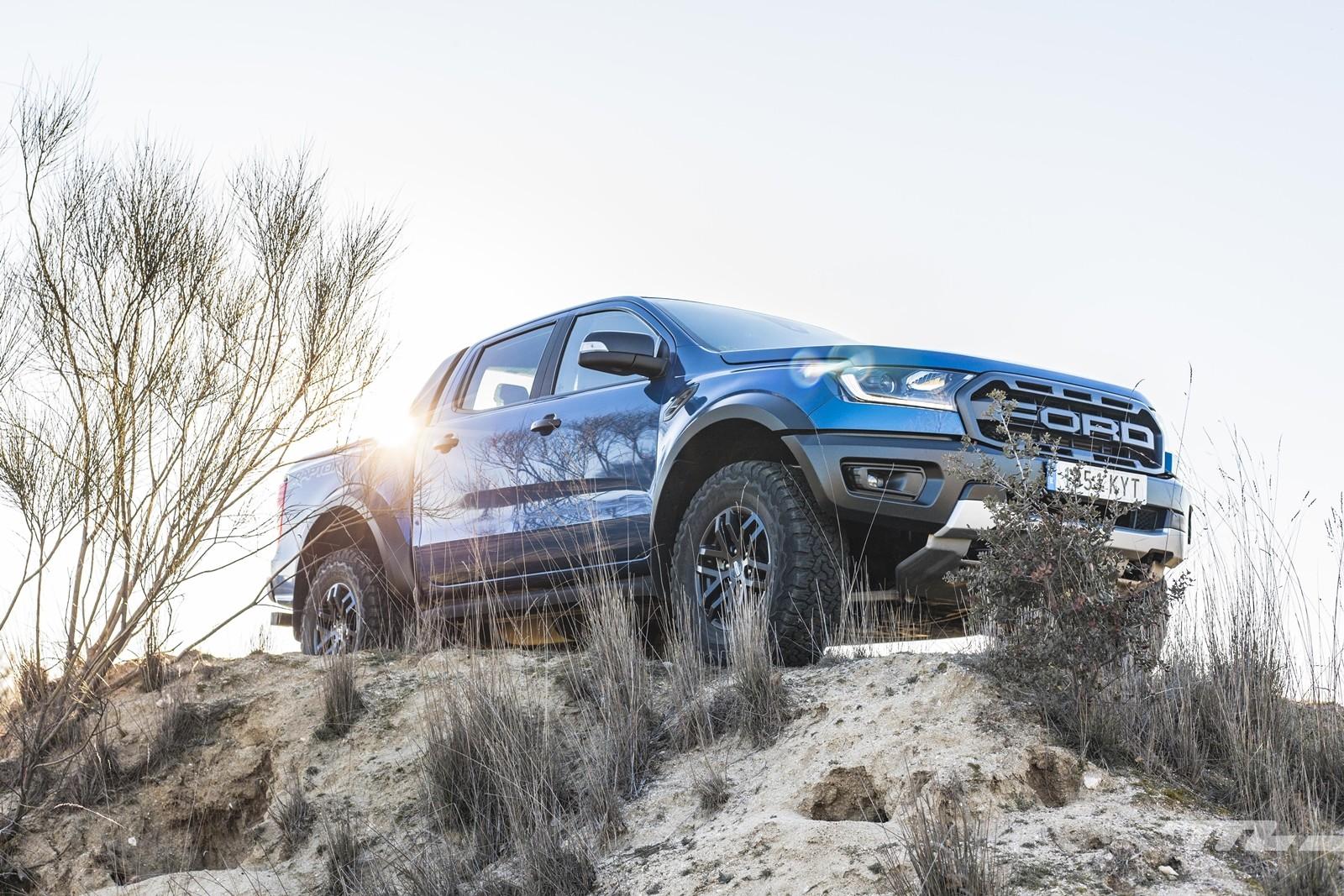 Foto de Ford Ranger Raptor 2020, prueba (9/36)