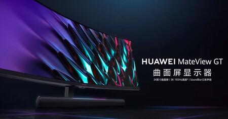 Monitor Curvo Huawei