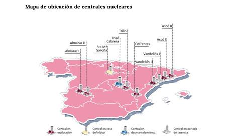 Miteco Mapa Nucleares