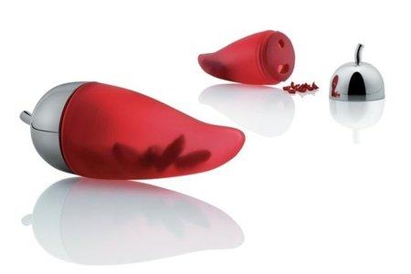 Picantino de Alessi: Il corno portafortuna que pica guindillas