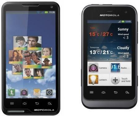 Motoluxe y Defy Mini dos nuevos Smartphone de Motorola