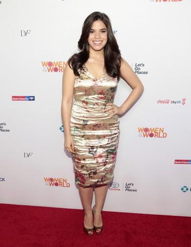 America Ferrera: así viste con estilo una mujer que no cumple el canon de belleza actual
