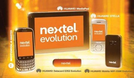 Nextel lanza su propia red 3.5G