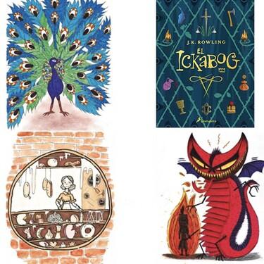 14 niños españoles de entre ocho y doce años ilustran 'El Ickabog', el último libro de J. K. Rowling, autora de Harry Potter