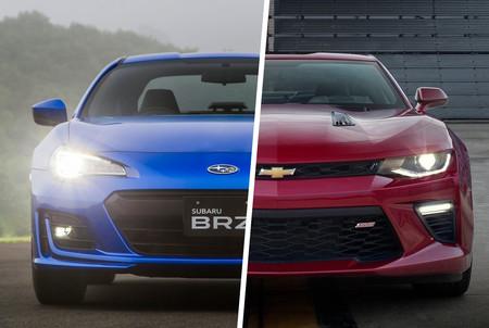 Chevrolet Camaro Turbo vs. Subaru BRZ: Analizamos dos coupés que te van a encantar, pero no lo sabías hasta ahora
