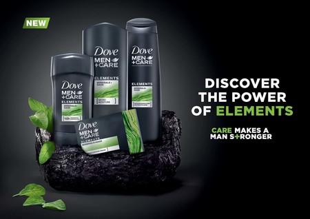La Linea Elements De Dove Men Care Cuidara De Tu Piel En Contra De La Naturaleza
