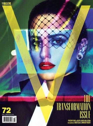 Penélope Cruz se convierte en un icono pop en la portada de la revista V