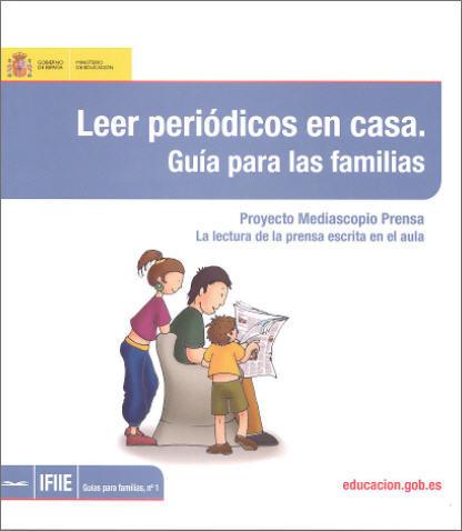Leer periódicos en casa, guía para las familias
