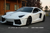Una réplica muy lograda del Lamborghini Aventador aparece a la venta en eBay