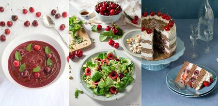 17 recetas con cerezas y picotas para aprovechar su temporada en el paseo por la gastronomía de la red