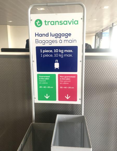 Medidas Transavia