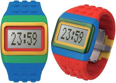 Relojes Jean Charles de Castelbajac inspirados en Lego
