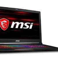 Gaming Days en PcComponentes: portátil MSI GE73 Raider con 150 euros de descuento