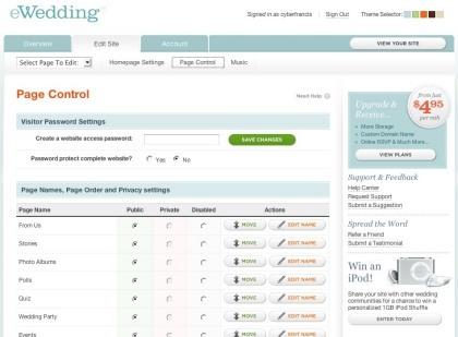eWedding, la página de cualquier boda en cinco minutos