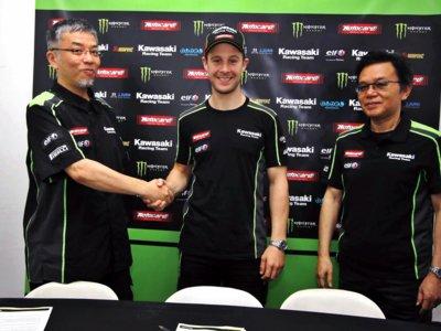 Jonathan Rea renueva con Kawasaki. A por otros dos años de éxitos