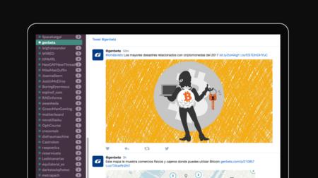 Twack organiza tu feed de Twitter como un equipo de Slack y así no te pierdes nunca los tuits de nadie