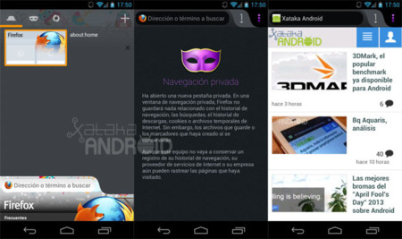 Firefox 20 para Android