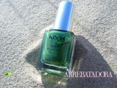 Color verde para tus uñas de NYX