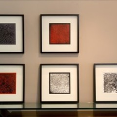 Foto 2 de 6 de la galería cuadros-de-huellas-dactilares en Decoesfera