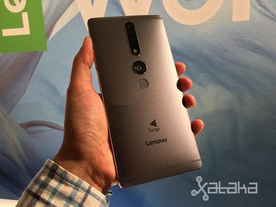 El próximo año veremos llegar otro smartphone de Lenovo con tecnología Tango
