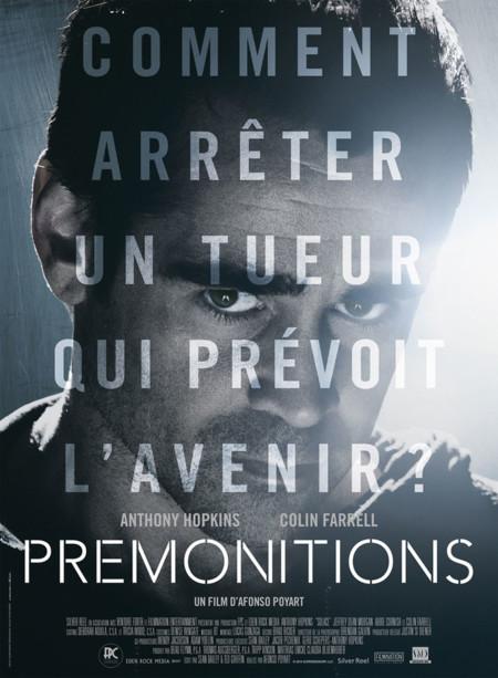 Colin Farrell en un póster de Solace (Premonitions en Francia)