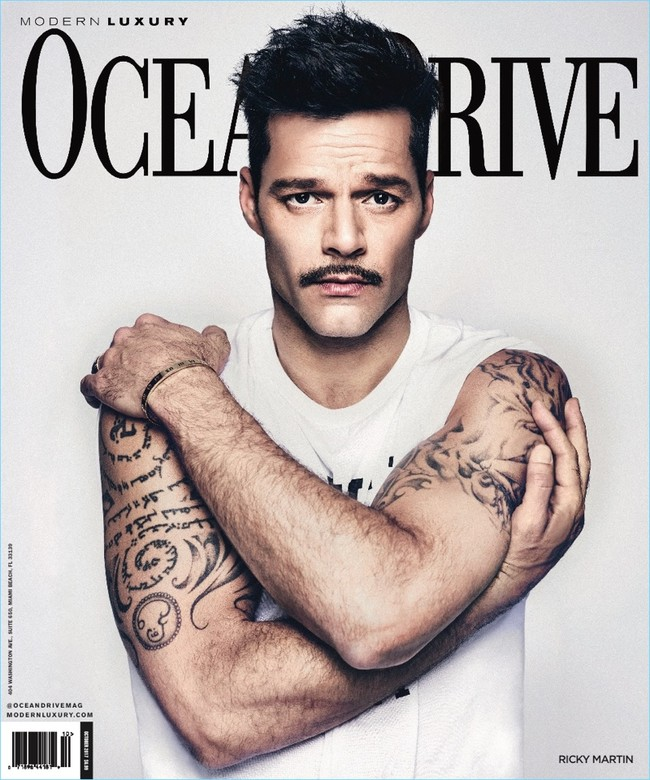 Ricky Martin 2017 Ocean Drive Cover