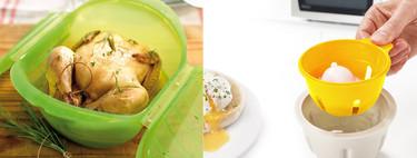 Los 21 utensilios más útiles para cocinar en el microondas y comer rápido y fácil (y 23 recetas para sacarles todo el partido)