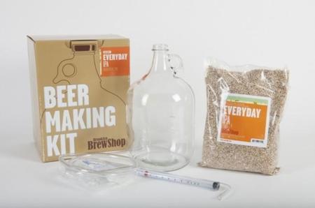 Kit para preparar cerveza casera