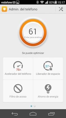 Foto de Apps administración y gestión Ascend P7 (4/6)