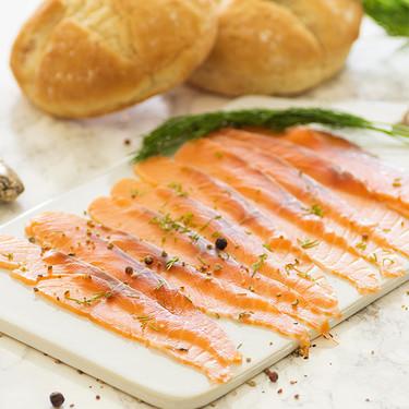 Salmón gravlax o a la escandinava: receta