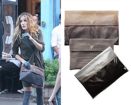 Carrie Bradshaw y los bolsos de Prada