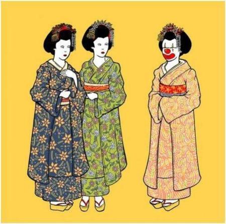 Camiseta de geisha... Fail!