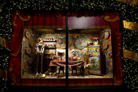 Dolcegabbana Italian Christmas At Harrods November 2nd 2017 Windows 10